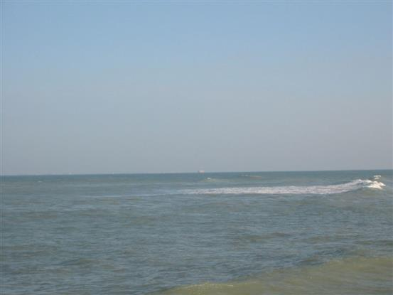 l'océan près du camping