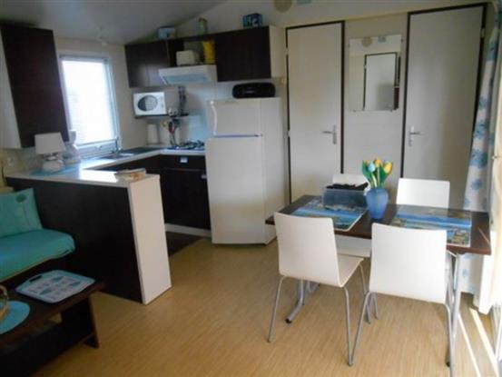 La cuisine salle à manger.
