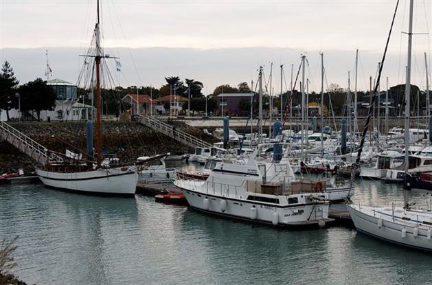 Près du camping : le port de Saint Denis D'oléron