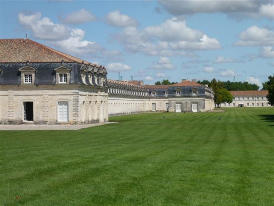 Rochefort sur mer : la corderie royale et l'arsenal